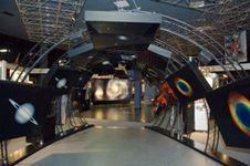 tunnel at the Goddard Visitor Center; Goddard Space Flight Center