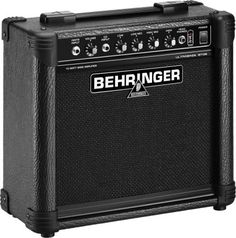 Behringer BT108 Ultrabass Bass Amplifier - A separate headphone output, 4-band EQ, and a dedicated CD input make this amp a small but versatile value.