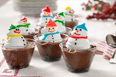 Snowman Cups Recipe - Kraft Recipes