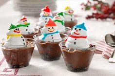 Snowman Cups Recipe - Kraft Recipes