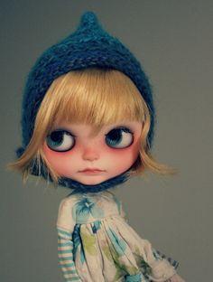 Bell Nomad Vainilladolly Custom OOAK Blythe Puppe von Vainilladolly