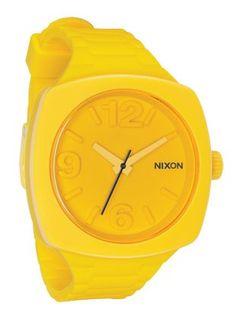 Yellow Nixon watch