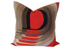 Pillow w/ Christian Dior Silk Scarf on OneKingsLane.com