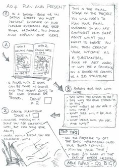 Student support booklet Natural forms - Planning Outcome page 2