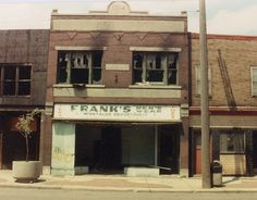 Old Hungarian clothing store Detroit 1990    Delray