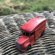 Vintage die cast Postal Van. Vintage Die Cast Toy made in