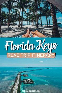 The Perfect 5 Day Florida Keys Road Trip Itinerary Florida Keys, Florida Vacation, Florida Travel, Travel Usa, Fl Keys, Key West Florida, Road Trip Florida, Miami Florida, Travel Tips
