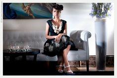 PHOTO CINZIA CARBONELLI & ADRIANA SEGANTI  DRESS: MICHELE MIGLIONICO HAUTE COUTURE MODEL: MISS SEYCHELLES SHERLYN FURNEAU