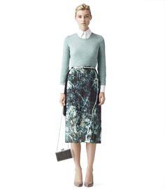Reiss/Angelika jumper. Pair it w/an African print skirt.