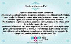 Electroestimulacion Ideal celulitis, levantamiento de gluteos. Reafirma y tonifica.