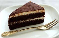 Super schokoladige Torte mit Espresso und Amaretto    bäckerina.de