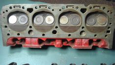 """Casting number 3795896. Manufactured from 1963-1965 on 283 Cubic Inch engines. Called the """"Power Pack"""" cylinder heads. 1.72˝ intake valves and 1.50˝ exhaust valves. 60cc Combustion Chambers."""