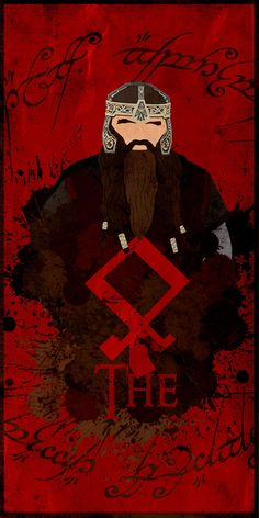 The Three Hunters: Gimli - Minimalist Poster by ChipsEss0r on deviantART