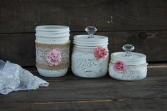 Awesome mason jar projects are offered on our site. Have a look and you wont be sorry you did. Mason Jar Projects, Mason Jar Crafts, Mason Jar Diy, Diy Hanging Shelves, Floating Shelves Diy, Diy Home Decor Projects, Diy Projects To Try, Craft Projects, Kids Crafts