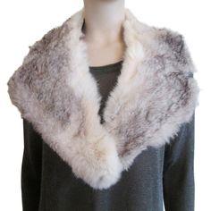 Vintage 1940s Fur Collar
