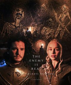 Game of Thrones Daenerys and Jon #got