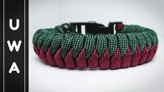 How to make The Snake Knot Viceroy Paracord Survival Bracelet With Buckle [Tutorial] - YouTube