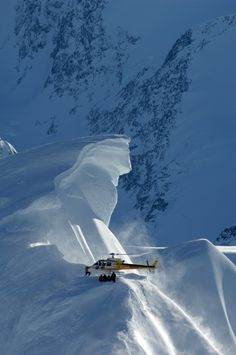 The Daily Pow: the genesis of helicopter skiing, as told in 4 quotes. http://www.adventure-journal.com/2014/02/the-daily-pow-the-genesis-of-heli-skiing-told-in-4-quotes/