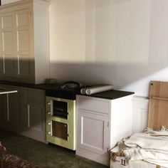 Piano di lavoro cucina su misura in stile country inglese modello ...