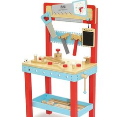 Christmas is around the corner... Check out this Little carpenters bench... Great for little boys or girls to mimic daddy (or mummy;) ) $99.95 available online #Christmas #toddlersofinstagram #toddlergifts #woodentoys #gifts