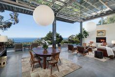 Tour a Midcentury Modern Home in Montecito, Calif.   2016   HGTV >> http://www.hgtv.com/design/ultimate-house-hunt/2016/bringing-the-outside-in/bringing-the-outside-in-peaceful-orchard-in-montecito-calif?soc=pinterest