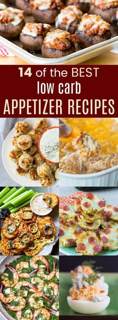 14 of the Best Low Carb Appetizers to Make Your Party Amazing