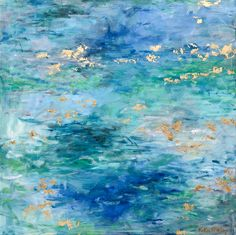 Art by Kellie Morley | HILL COUNTRY SPRING Bluebonnet Abstract