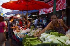 Thailand. Chang Rai  Food market