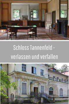 Ein geschichtsträchtiges und doch verlassenes Schloss in Thüringen  #thüringen #lostplace #abandones Reisen In Europa, Abandoned, Travelling, Berlin, Castle, Hacks, Mansions, Country, Abandoned Castles