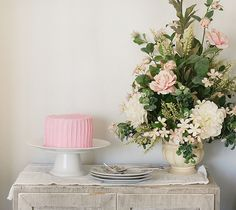 What's better than cake and flowers!