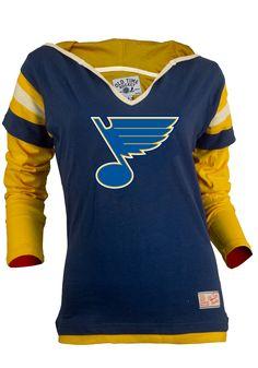 17d8d74f71e Old Time Hockey Nashville Predators Women's Marte Fooler Hood T-Shirt