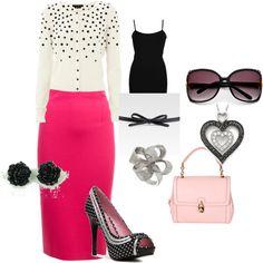 pink, created by barbieholmesbraithwaite.polyvore.com