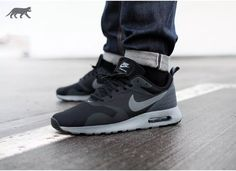 Nike Air Max Tavas (Black / Cool Grey - Anthracite)