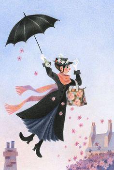 Mary Poppins #illustrations