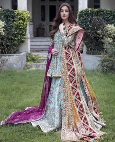 Asian Bridal Dresses, Bridal Mehndi Dresses, Nikkah Dress, Shadi Dresses, Pakistani Wedding Dresses, Pakistani Outfits, Indian Dresses, Pakistani Models, Pakistani Actress