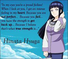 Hinata quote :3 Naruto quotes