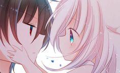 Kawaii Neko Girl, Cute Neko Girl, Loli Kawaii, Kawaii Chibi, Cute Chibi, Anime Vs Cartoon, Anime Neko, Anime Guys, Anime Art