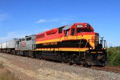 The EMD GP22ECO is a 2,150 hp(1,600 kW) B-B diesel-electric locomotive rebuilt…