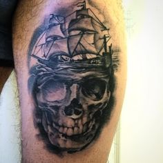 nice Top 100 pirate tattoos - http://4develop.com.ua/top-100-pirate-tattoos/ Check more at http://4develop.com.ua/top-100-pirate-tattoos/