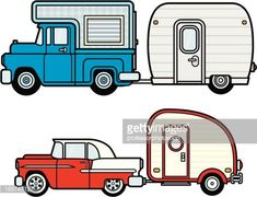 The Joy Of Having A Camping Camper RV On A Camping Trip - family camping site Applique Patterns, Quilt Patterns, Naive, Camper Signs, Happy Campers, Retro Campers, Vintage Campers, Vintage Travel Trailers, Do It Yourself Crafts