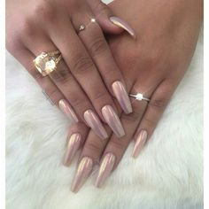 18 Beautiful and Unique Trendy Nail Art Designs Sexy Nails, Hot Nails, Nails On Fleek, Hair And Nails, Glam Nails, Fancy Nails, Stiletto Nails, Coffin Nails, Gorgeous Nails
