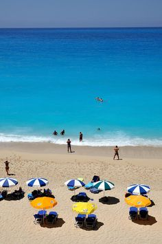 Egremni beach, Lefkada , Greece