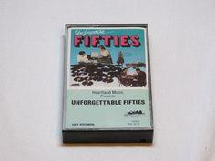 Unforgettable Fifties Tape 3 Three MSC 35148 RARE Cassette Tape Heartland music