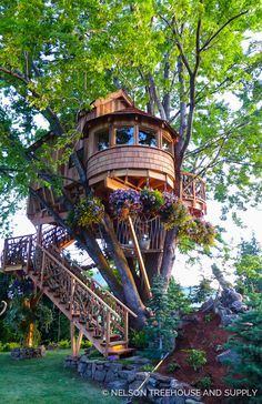 Nelson Treehouse Lake Chelan