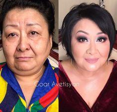 Seleção traz 20 mulheres produzidas pela melhor maquiadora do mundo. Imagens mostram transformações absurdas.