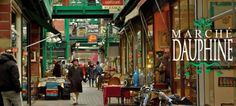 Dauphine Market, Paris