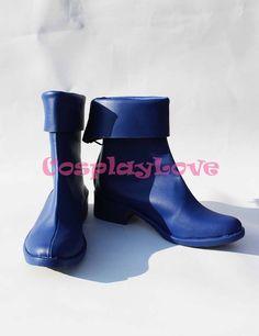 >> Click to Buy << Magical Girl Lyrical Nanoha Takamachi Nanoha Blue Cosplay Shoes Boots Hand Made Custom-made For Halloween Christmas CosplayLove #Affiliate