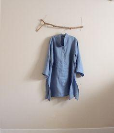 custom hanky linen ao dai robe by annyschooecoclothing on Etsy