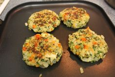 ~Quinoa Veggie Burger Patties