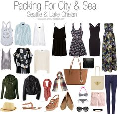 What to pack for a week in Seattle  Packing list for the PNW